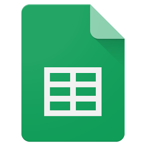 Picture of Google Sheets